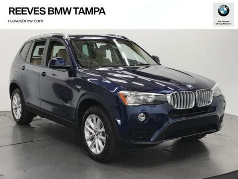 New BMW X3 sDrive28i Sports Activity Vehicle