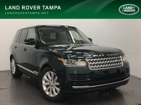 New 2017 Land Rover Range Rover Td6 Diesel HSE SWB With Navigation & 4WD