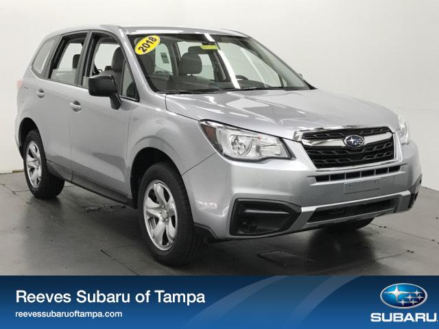 New 2018 Subaru Forester 2.5i Manual