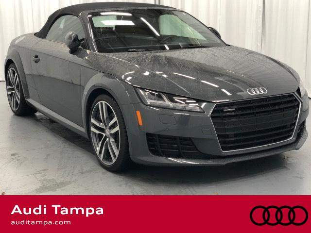 Certified Pre Owned 2016 Audi Tt 2dr Roadster S Tronic Quattro 2 0t