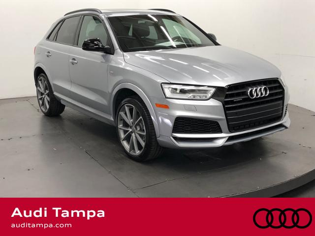 new 2018 audi q3 2 0 tfsi sport premium plus quattro sport utility in tampa 184972 reeves. Black Bedroom Furniture Sets. Home Design Ideas