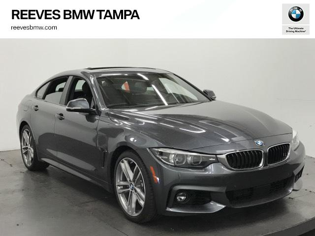 new 2018 bmw 4 series 440i gran coupe 4dr car in tampa 182012 reeves import motorcars. Black Bedroom Furniture Sets. Home Design Ideas