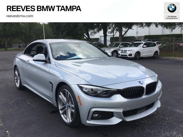 New 2018 Bmw 4 Series 430i Convertible Convertible In Tampa 182123 Reeves Import Motorcars