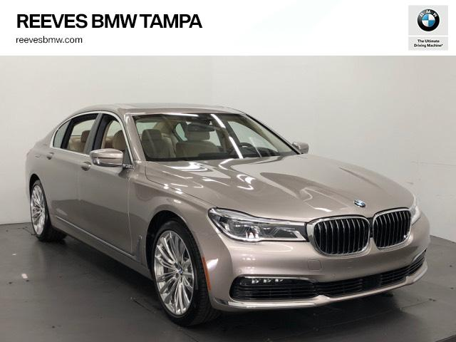 New 2018 BMW 7 Series 750i Sedan