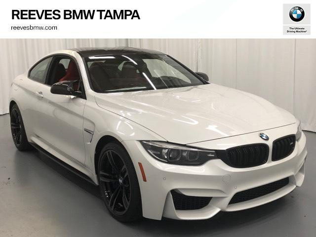 Bmw M4 Coupe >> New 2019 Bmw M4 Coupe 2dr Car In Tampa 192410 Reeves Import Motorcars