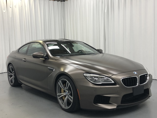 Certified Pre-Owned 2017 BMW M6 Coupe