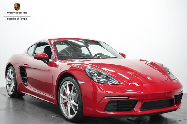 New 2018 Porsche 718 Cayman S Coupe 2dr Car In Tampa