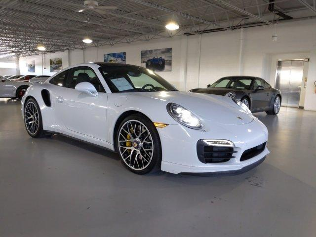 Certified Pre-Owned 2015 Porsche 911 2dr Cpe Turbo