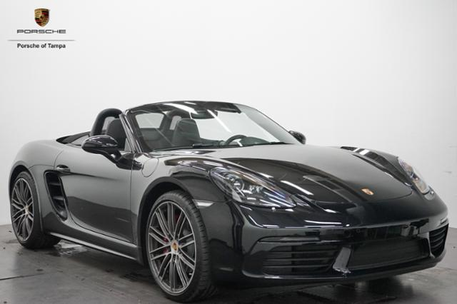 New 2018 Porsche 718 Boxster S Roadster Convertible In