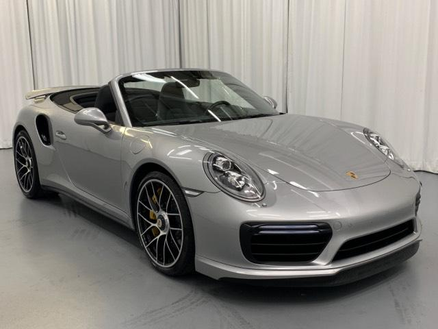 Certified Pre Owned 2017 Porsche 911 Turbo S Cabriolet