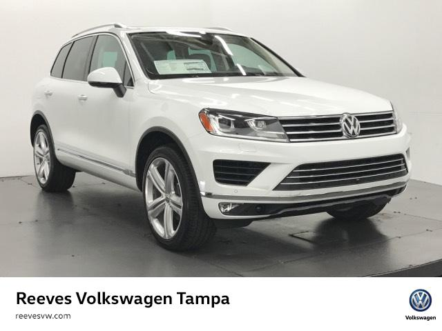 new 2017 volkswagen touareg v6 executive sport utility in tampa 175856 reeves import motorcars. Black Bedroom Furniture Sets. Home Design Ideas