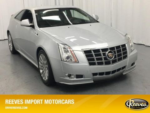 Pre-Owned 2012 Cadillac CTS 2dr Cpe Premium RWD