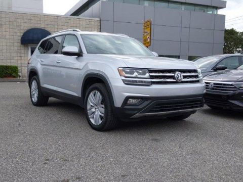 Certified Pre-Owned 2019 Volkswagen Atlas 3.6L V6 SE w/Technology FWD