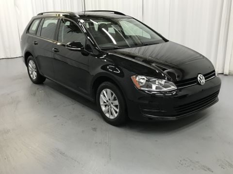 Certified Pre-Owned 2016 Volkswagen Golf SportWagen TSI S