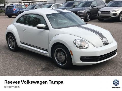 Certified Pre-Owned 2015 Volkswagen Beetle 2dr Auto 1.8T