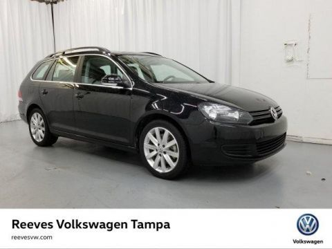 Certified Pre-Owned 2014 Volkswagen Jetta TDI w/Sunroof