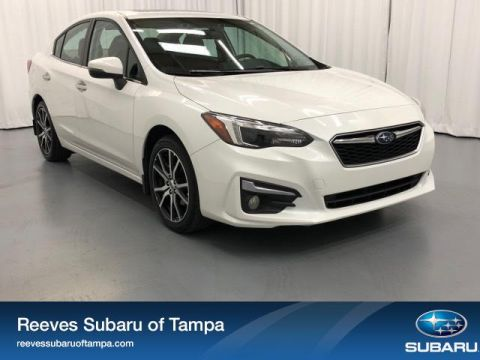 Certified Pre-Owned 2017 Subaru Impreza 2.0i Limited 4-door CVT