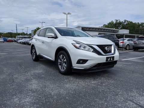Pre-Owned 2015 Nissan Murano AWD 4dr SL AWD Sport Utility