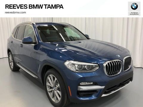 New 2019 BMW X3 sDrive30i Sports Activity Vehicle