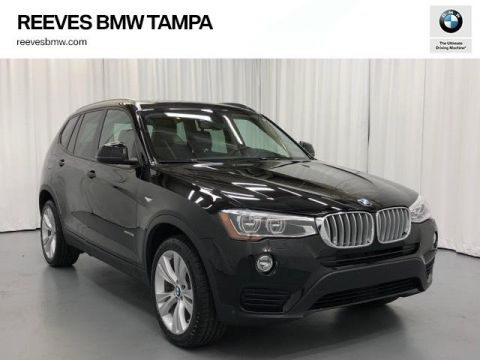 Certified Pre-Owned 2016 BMW X3 AWD 4dr xDrive35i