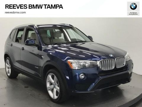 Certified Used BMW X3 xDrive28i Sports Activity Vehicle