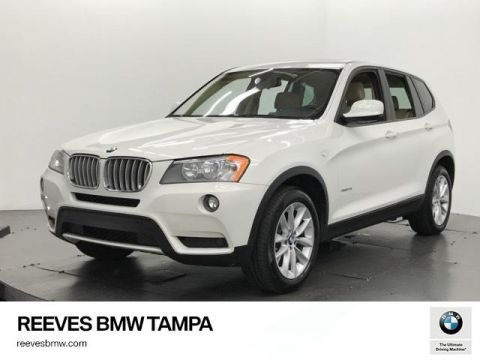 Certified Used BMW X3 AWD 4dr xDrive28i