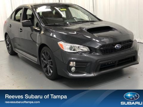 New 2019 Subaru WRX Premium Manual