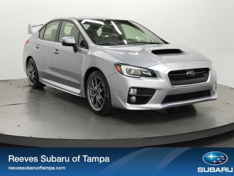 New 2017 Subaru WRX STI Limited Manual w/Wing Spoiler With Navigation & AWD