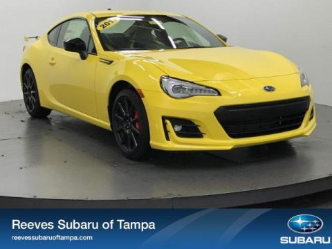 New 2017 Subaru BRZ Series.Yellow Manual RWD 2dr Car