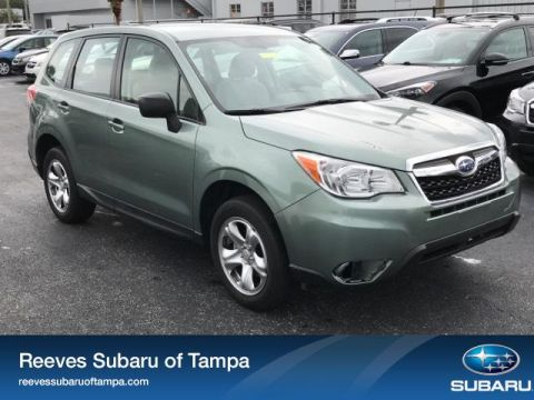 Certified Pre-Owned 2016 Subaru Forester 4dr CVT 2.5i PZEV
