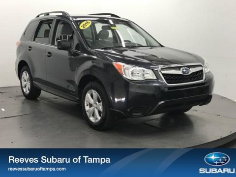 Certified Used Subaru Forester 4dr CVT 2.5i PZEV