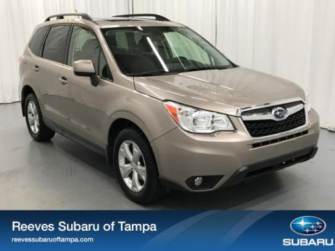 Certified Pre-Owned 2015 Subaru Forester 4dr CVT 2.5i Limited PZEV