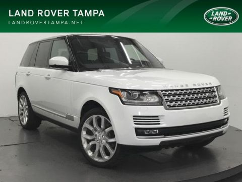 New 2017 Land Rover Range Rover V6 Supercharged HSE SWB 4WD