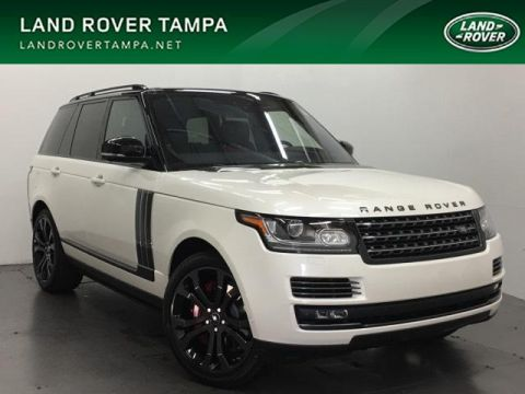 New 2017 Land Rover Range Rover V8 Supercharged SV Autobiography Dy 4WD