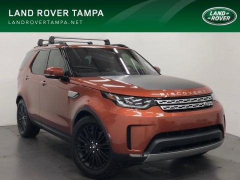 New 2018 Land Rover Discovery HSE Luxury V6 Supercharged