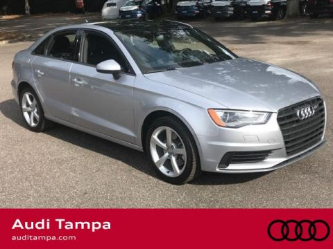 Certified Pre-Owned 2015 Audi A3 4dr Sdn FWD 1.8T Premium