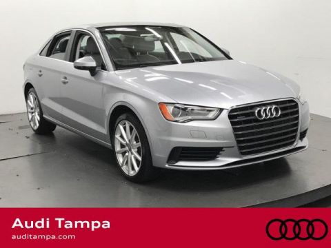 Certified Pre-Owned 2015 Audi A3 4dr Sdn quattro 2.0T Premium