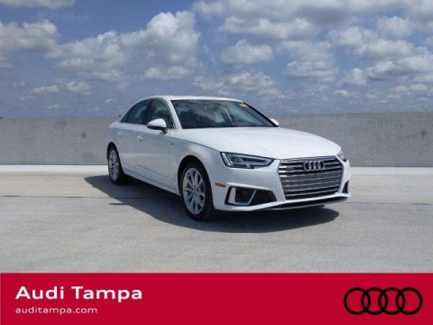 Certified Pre-Owned 2019 Audi A4 Premium Plus 45 TFSI quattro AWD