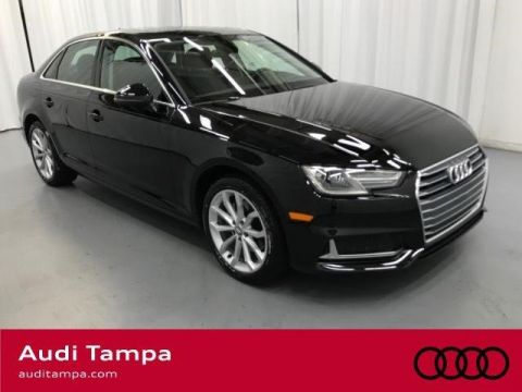 Certified Pre-Owned 2019 Audi A4 Premium