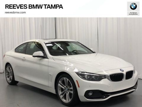 Certified Pre-Owned 2019 BMW 4 Series 430i Coupe