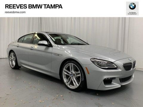 Certified Pre-Owned 2016 BMW 640i Gran Coupe 640i