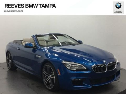 New 2018 BMW 6 Series 640i Convertible RWD Convertible