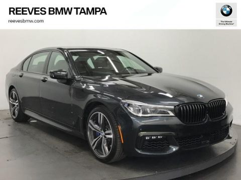 New 2018 BMW 7 Series 750i Sedan RWD 4dr Car