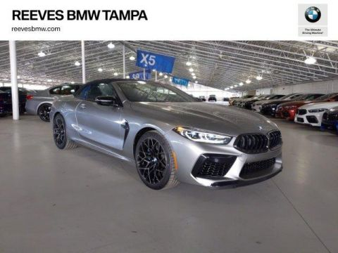 New 2020 BMW M8 Competition Convertible