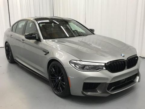 New 2019 BMW M5 Competition Sedan With Navigation & AWD