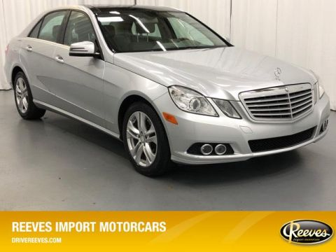 Pre-Owned 2010 Mercedes-Benz E-Class 4dr Sdn E 350 Luxury RWD
