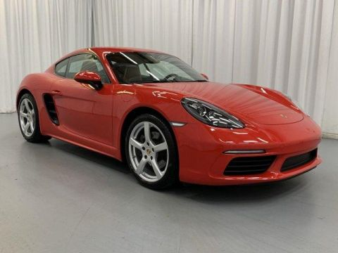 Certified Pre-Owned 2018 Porsche 718 Cayman Coupe