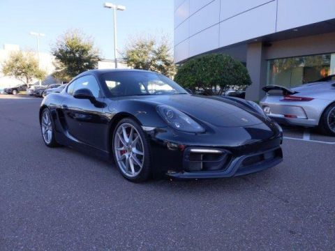 Certified Pre-Owned 2015 Porsche Cayman 2dr Cpe S