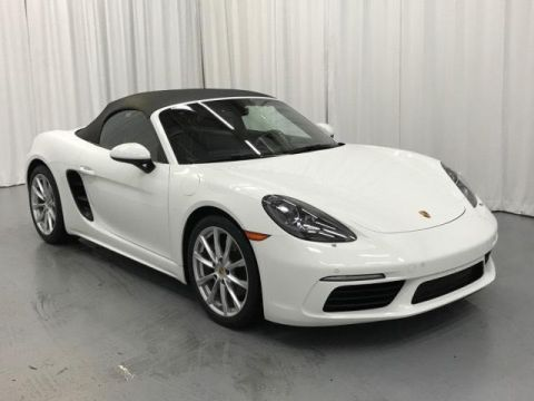 Certified Pre-Owned 2017 Porsche 718 Boxster Roadster