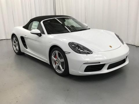 New 2019 Porsche 718 Boxster S Roadster
